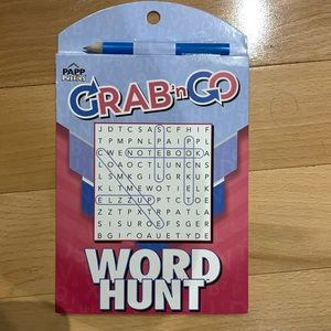 FREE with 3+ bundle Grab & Go Word Hunt book NWT